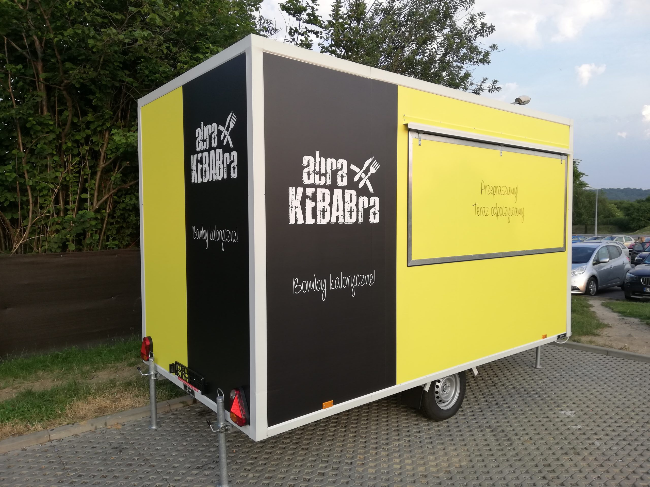 Realizacja reklamy Abra Kebabra