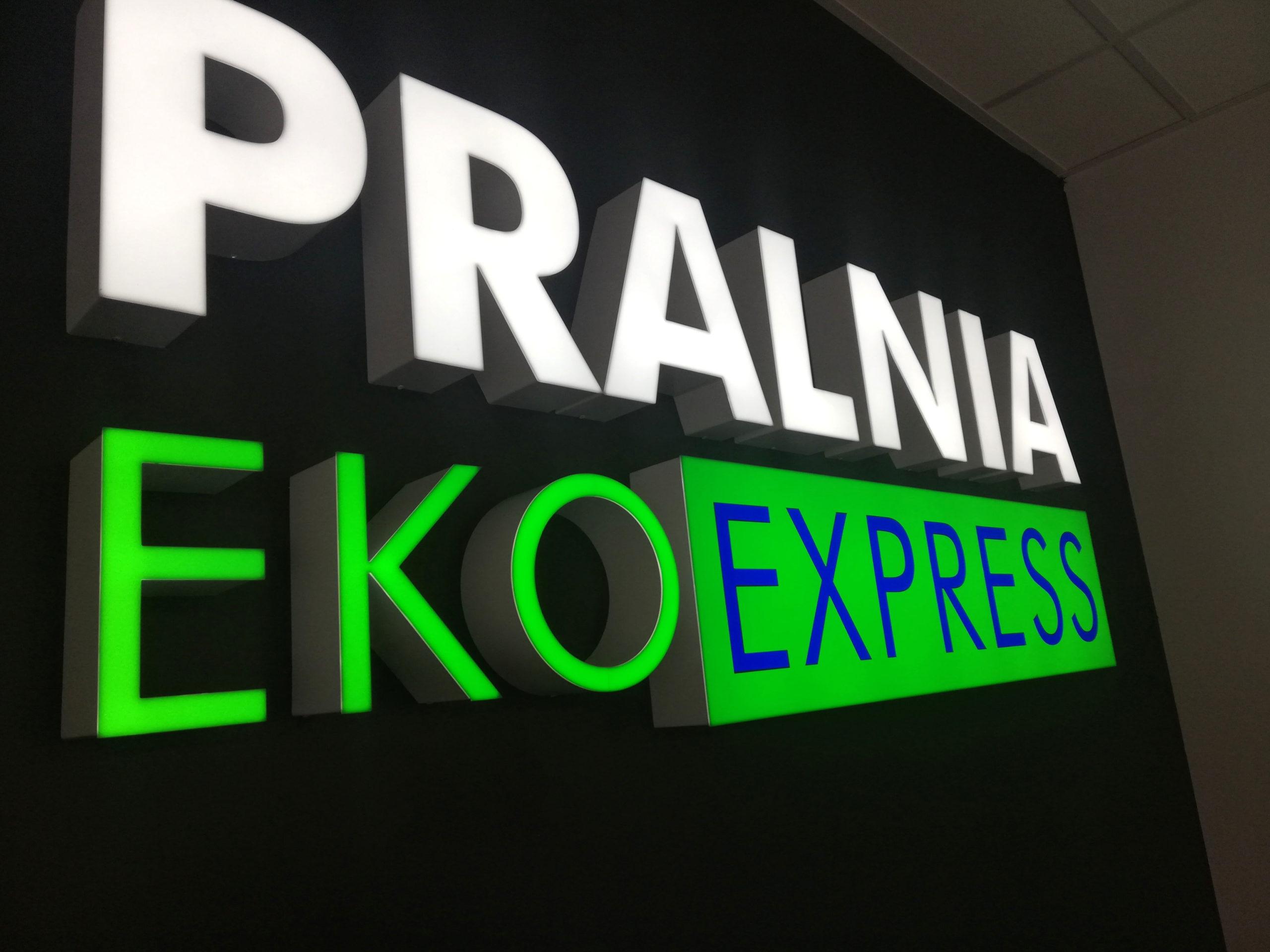 Realizacja reklamy Pralnia Eko Express