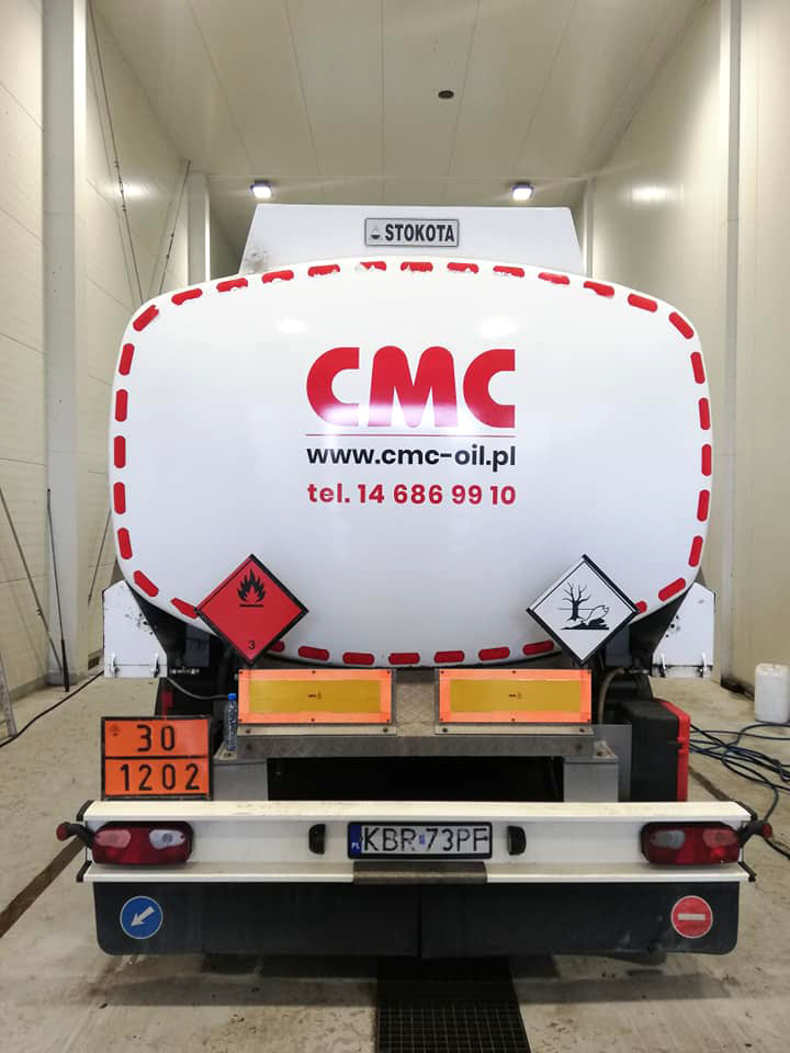 Realizacja reklamy CMC – Autocysterny
