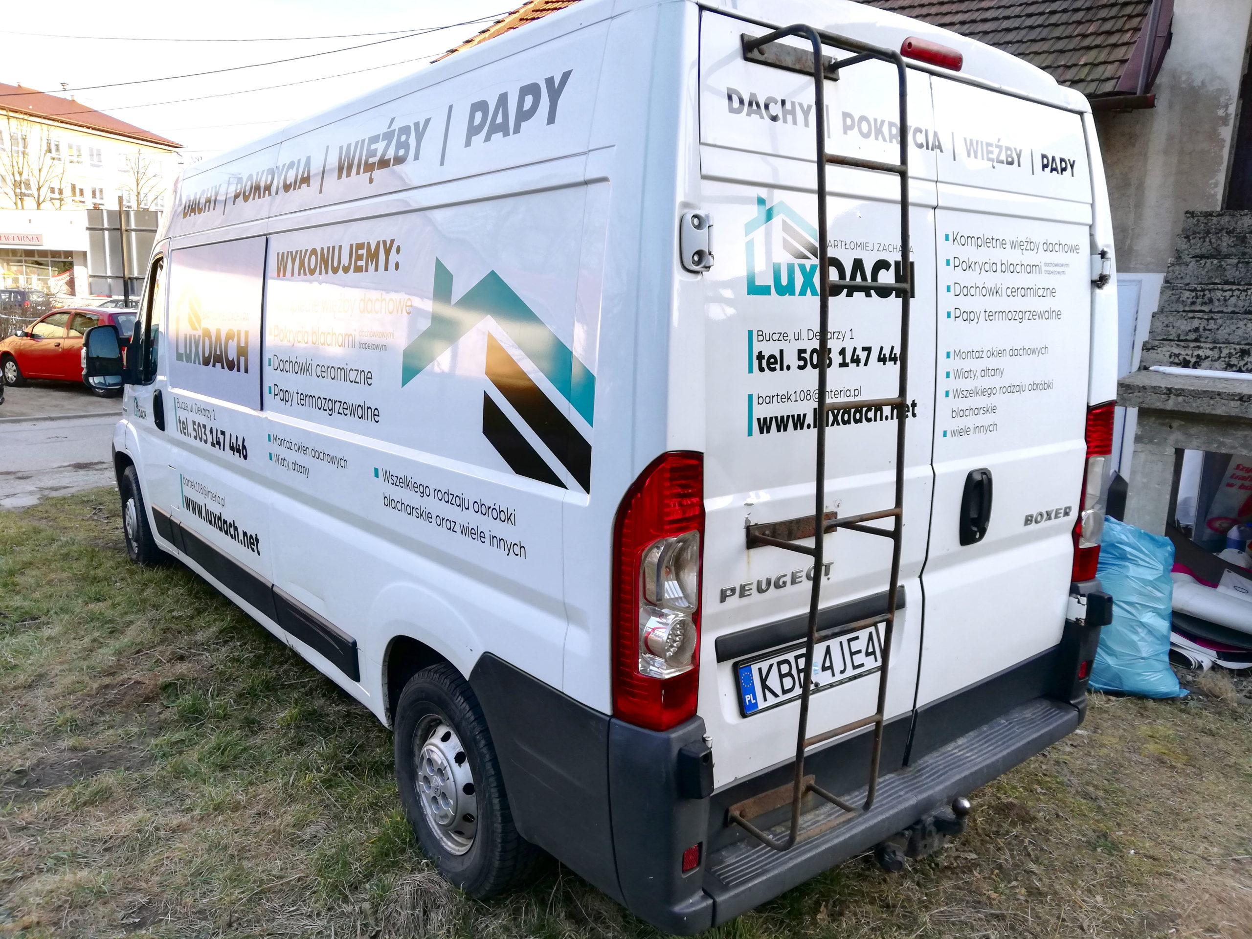 Realizacja reklamy Lux Dach