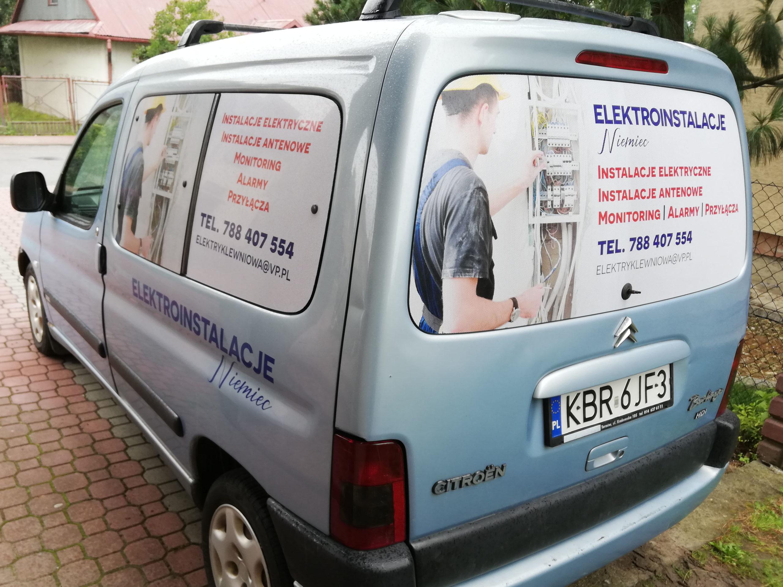 Realizacja reklamy Elektroinstalacje