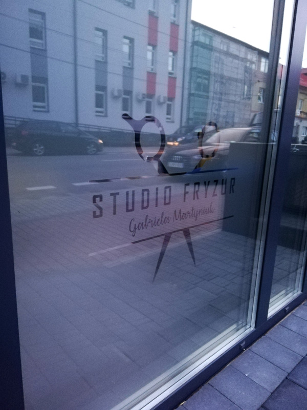 Realizacja reklamy Studio Fryzur Gabriela Martyniuk