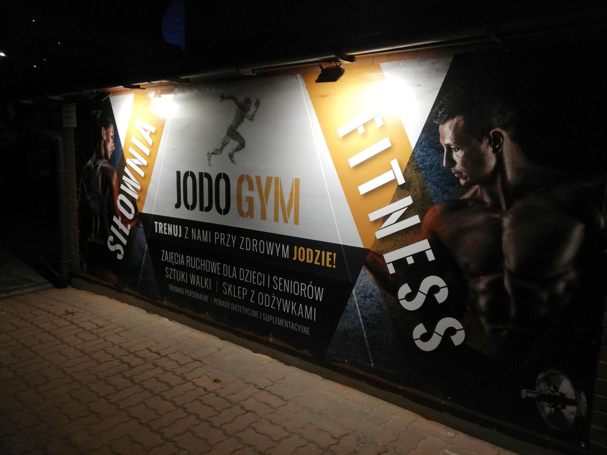 Realizacja reklamy Jodo Gym Siłownia