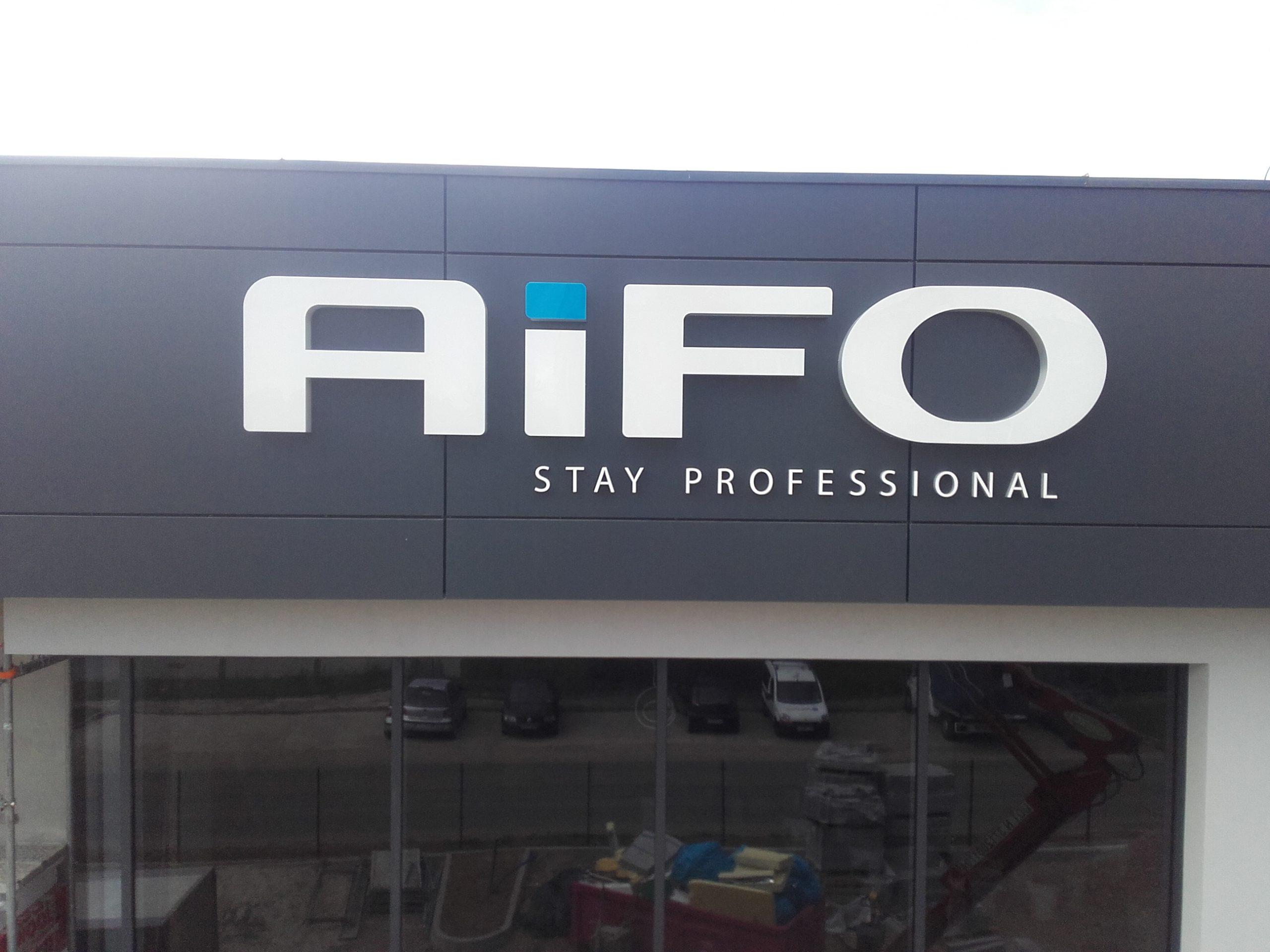 Realizacja reklamy Aifo