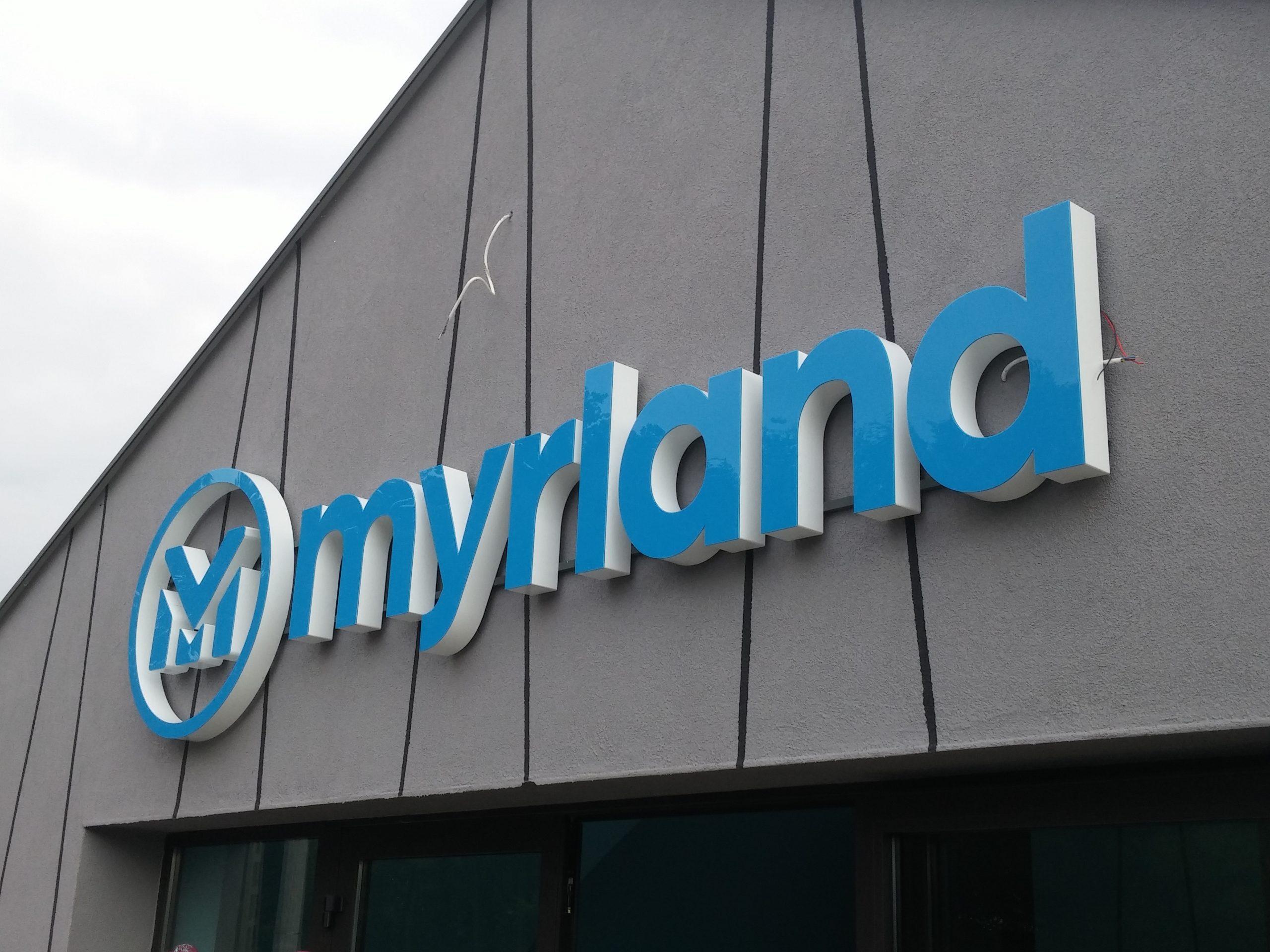 Realizacja reklamy Myrland
