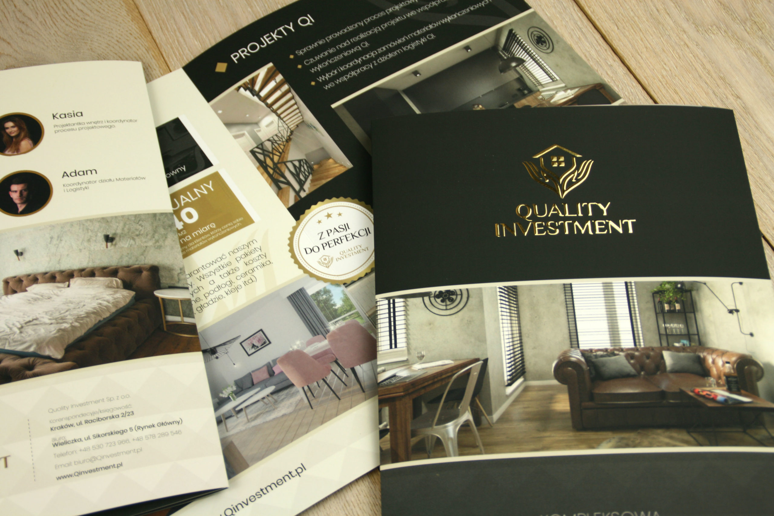 Realizacja reklamy Quality Investment