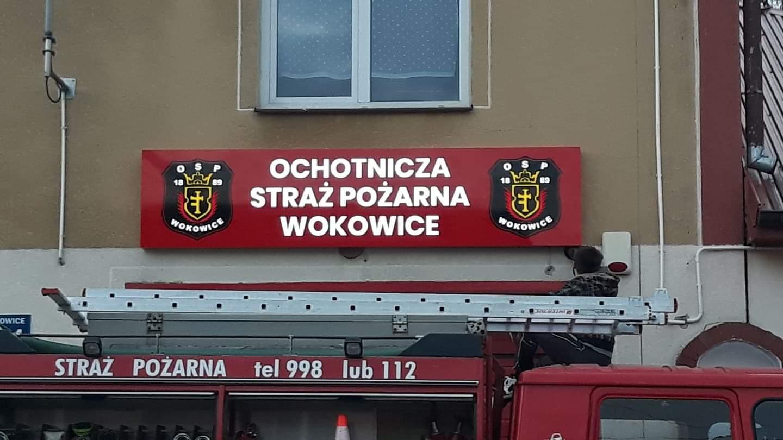 Realizacja reklamy OSP Wokowice