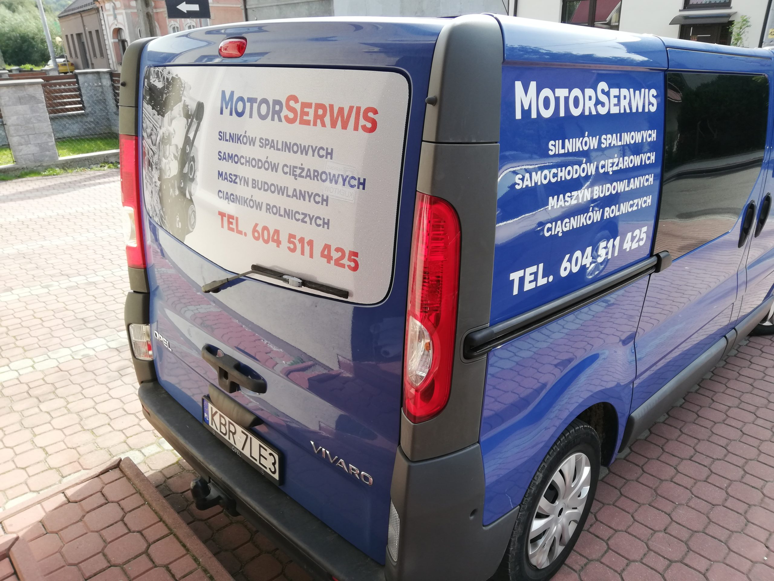 Realizacja reklamy Motoserwis