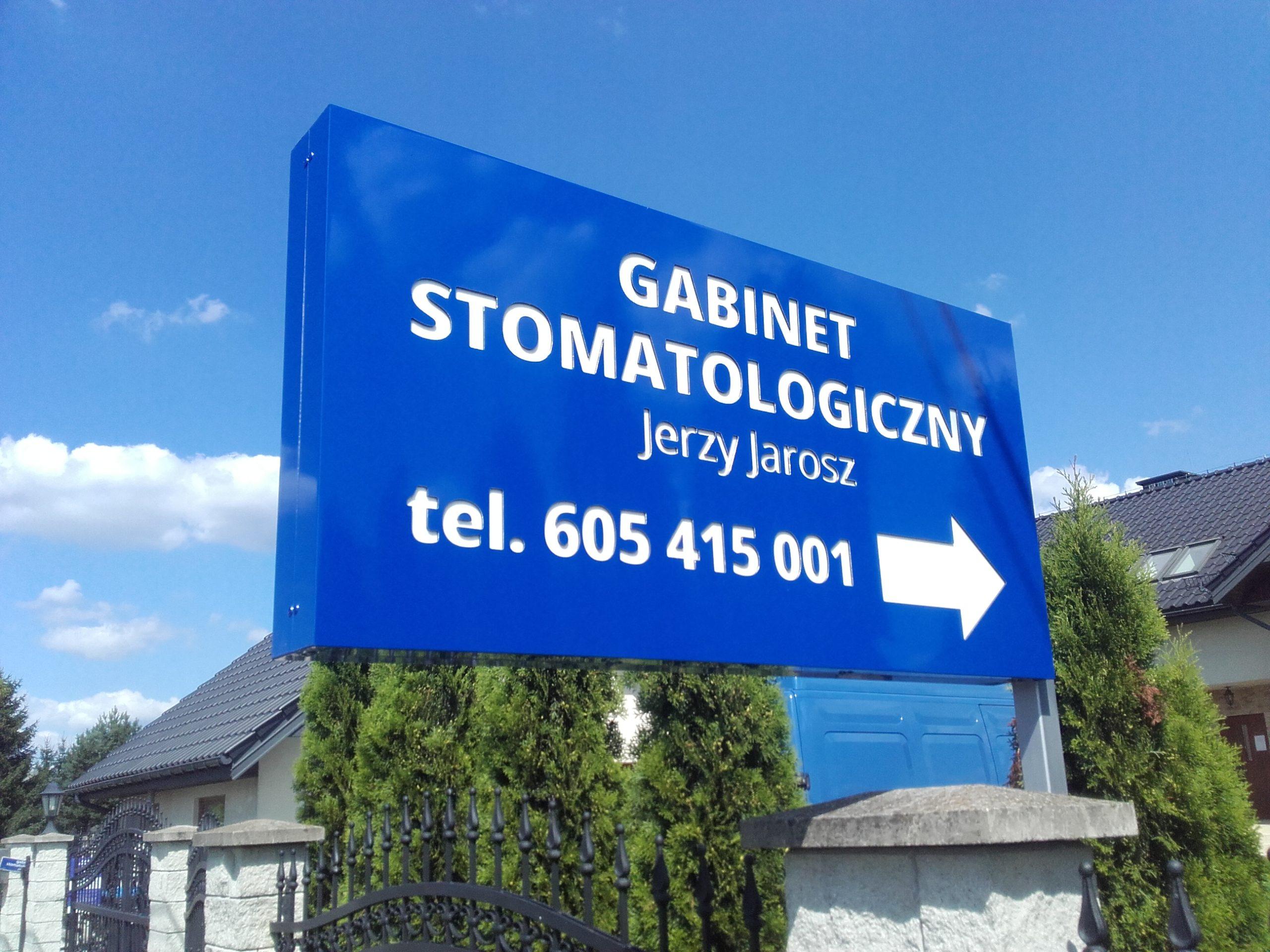 Realizacja reklamy Gabinet Stomatologiczny