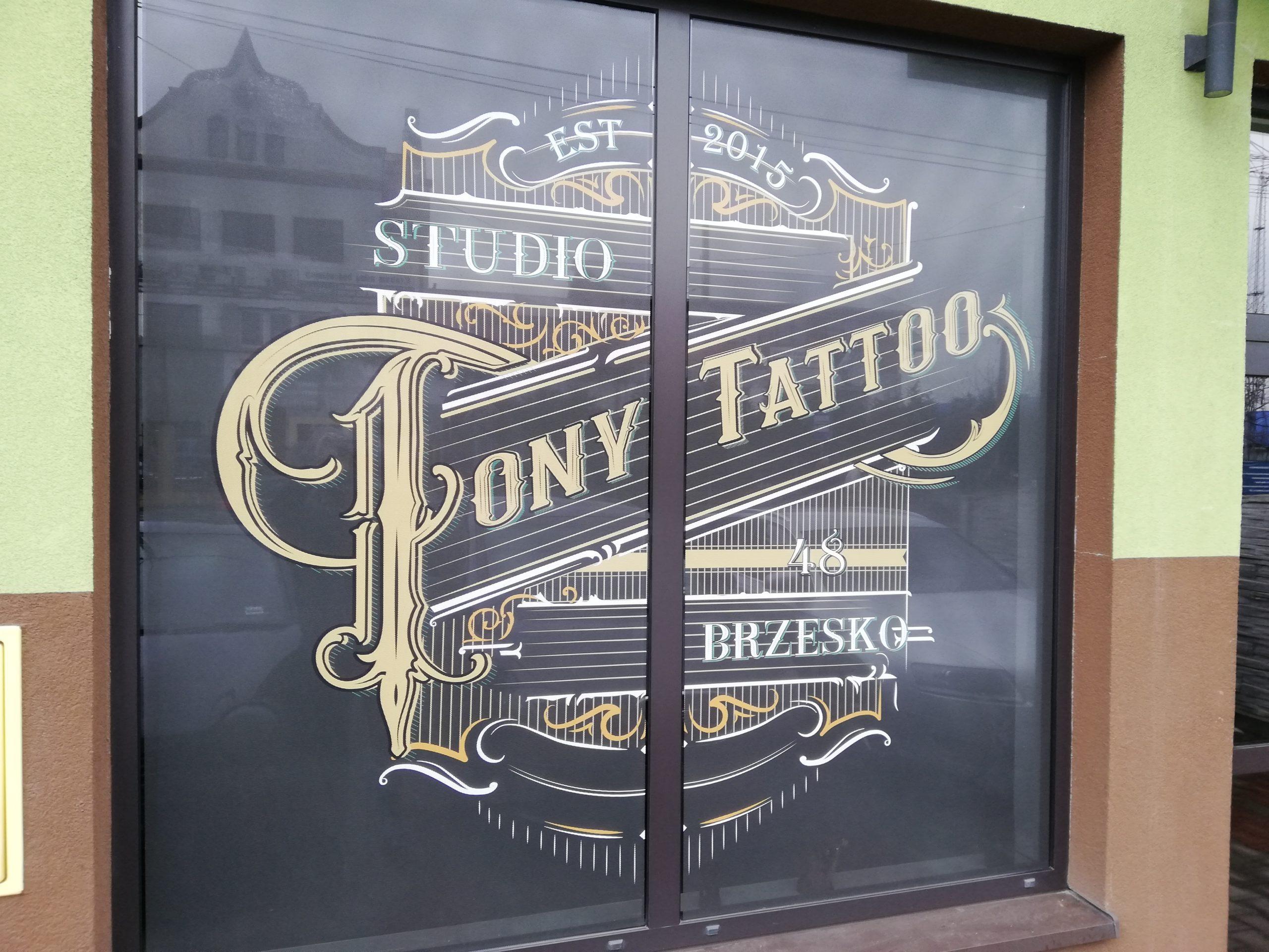 Realizacja reklamy Tony Tatoo Salon Tatuażu